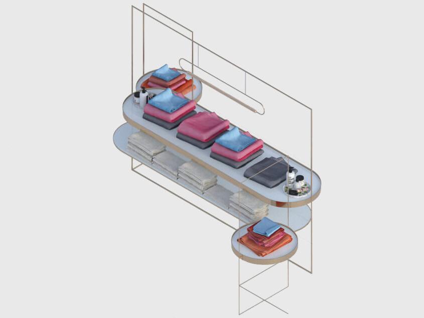 Furniture design for Konen