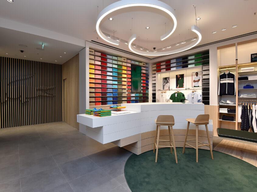 Interior view of polo bar